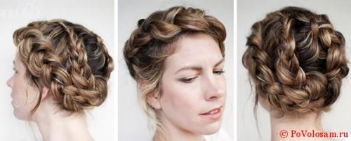 Как заплести сложную косу