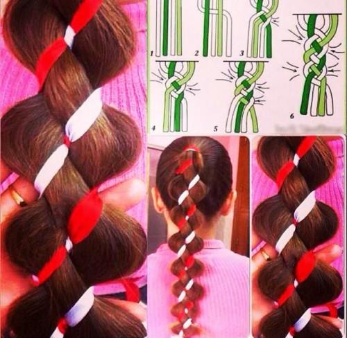 Плетем французскую косу легко, по пошаговым инструкциям