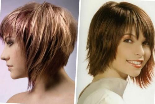 короткие волосы для полных дам
