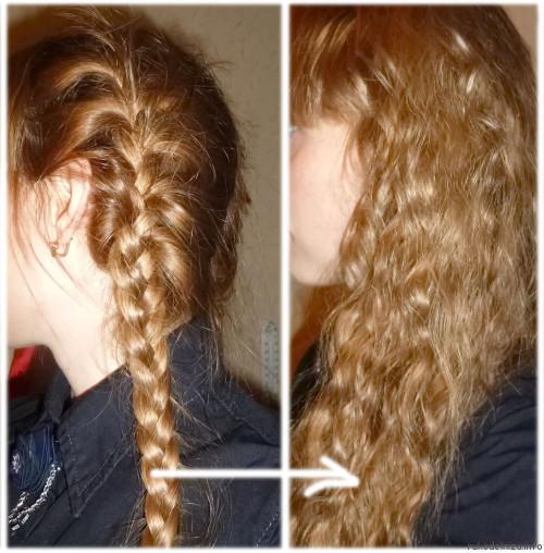 Косички — простой способ завить волосы
