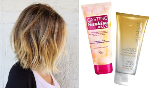 Как осветлить волосы