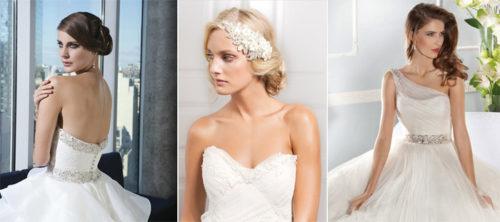 Как подобрать прическу к свадебному платью