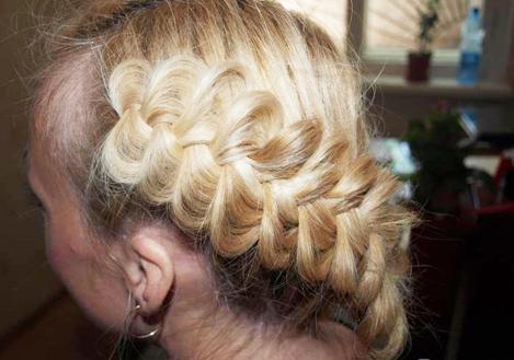 Французская объемная коса