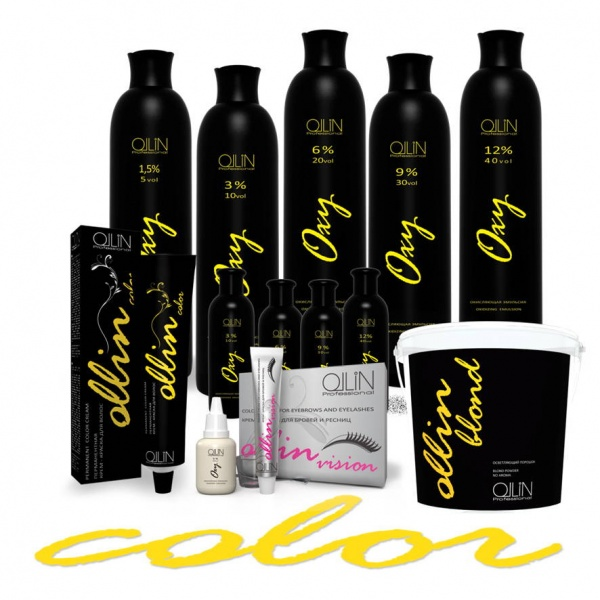 краска для волос Оllin