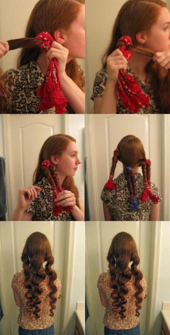 Как сделать объемные кудри с помощью плойки