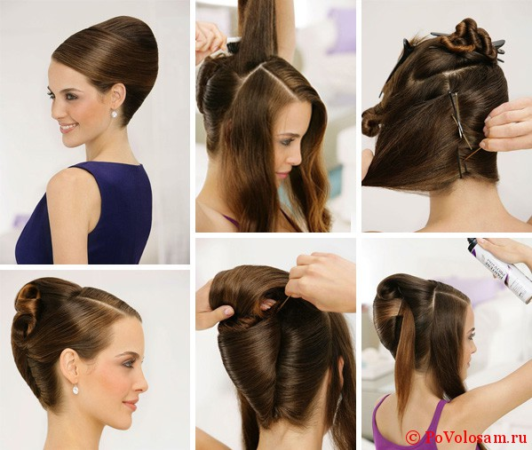 Делаем прическу на длинные волосы: фото причесок 5