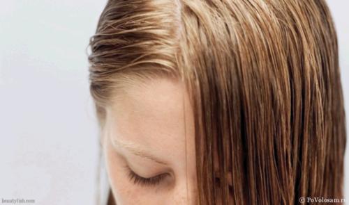 жирнеют волосы