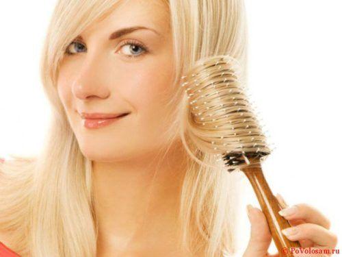 Аромарасчесывание для красоты волос