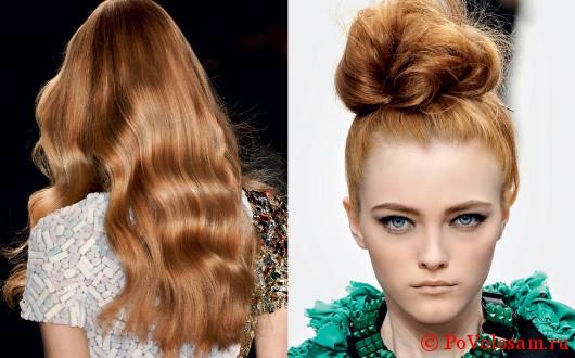 светлый бронзовый цвет волос