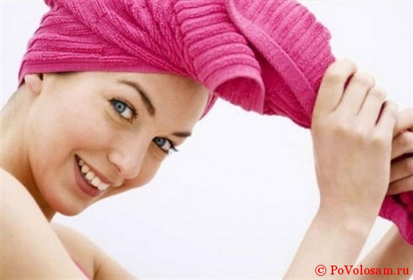 сушка полотенцем