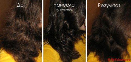 жидкие кристаллы для волос как наносить