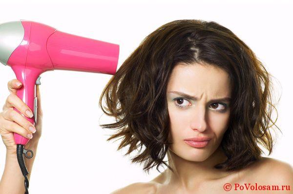 Как правильно сушить волосы короткой длины