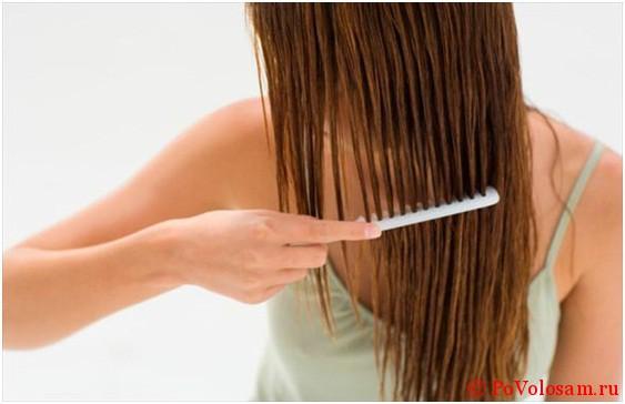 Как можно быстро высушить волосы расческой