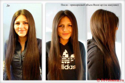 Как сделать объем волос с корней