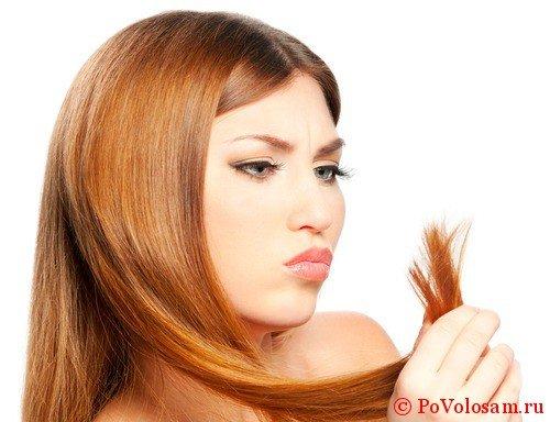 ломкие волосы