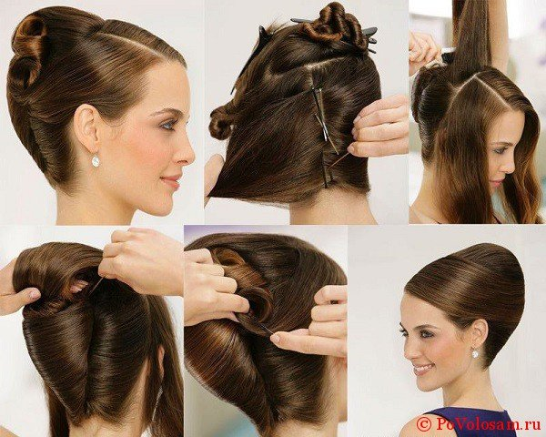 Как сделать ракушку из длинных волос самой
