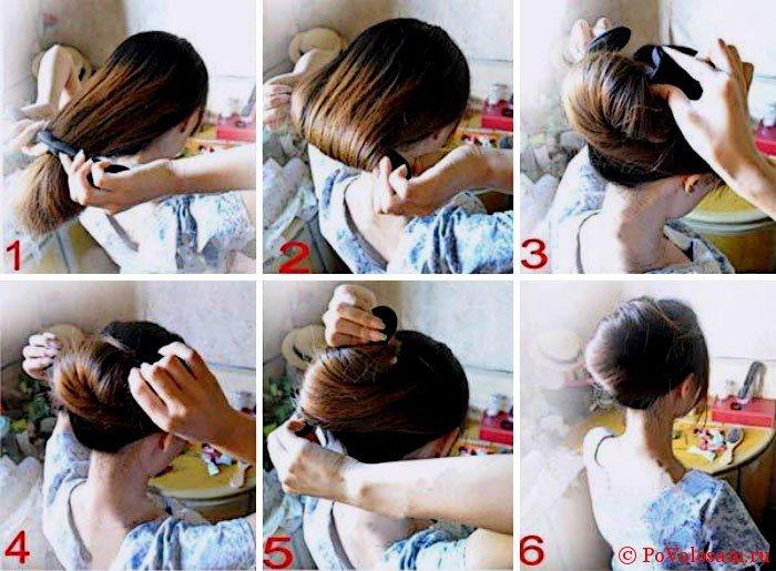 Как сделать прическу ракушку?