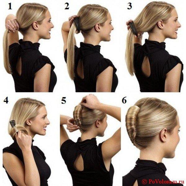 Прическа ракушка: пошаговая инструкция с фото и видео