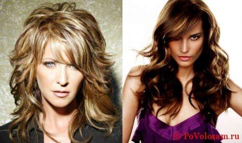 Лесенка на средние волосы 3