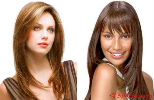 Лесенка на длинные волосы 2
