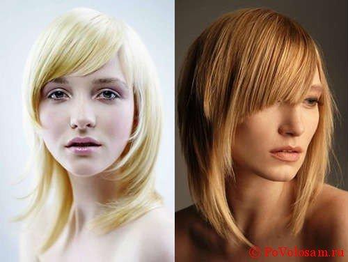 Лесенка на средние волосы 7
