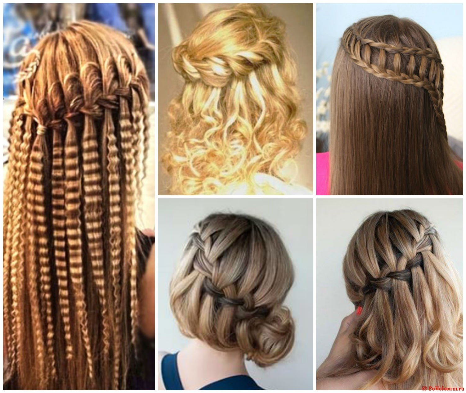 Косички на длинные волосы пошаговая инструкция