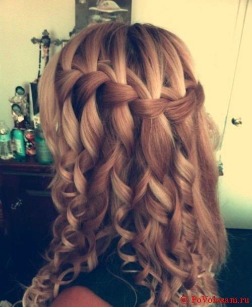 Водопад на длинные волоссы