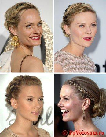 Разнообразие кос на короткие волосы