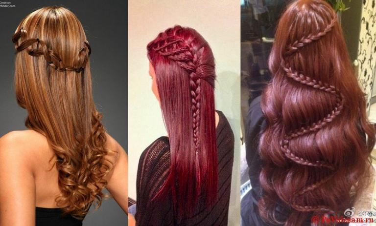 прически на jxtym длинные волосы