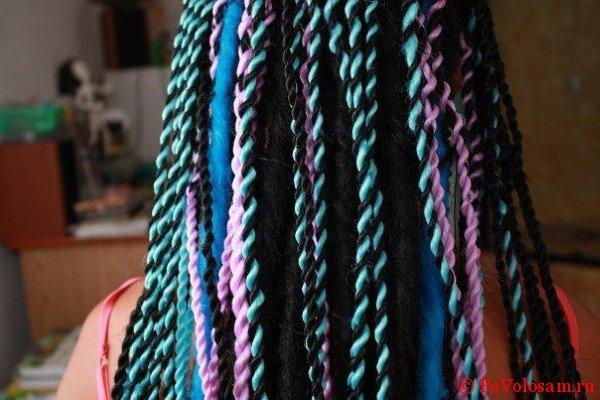 Плетение африканских косичек сенегал