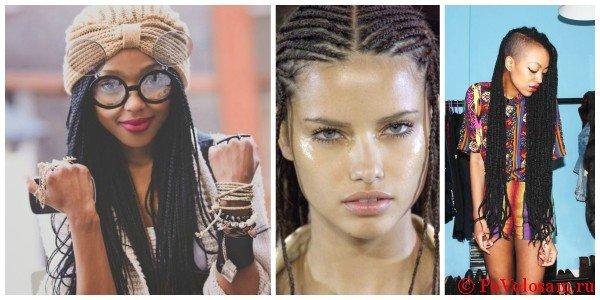 Разновидности афрокосичек