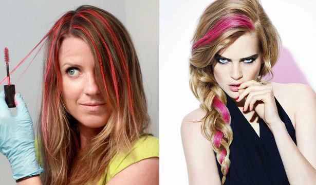 Цвет волос. интересный цвет волос