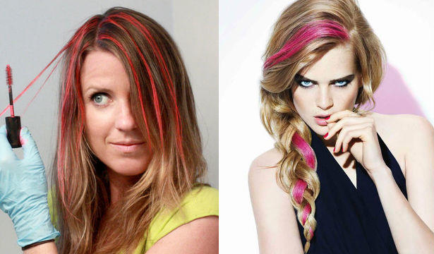 Краска паллет для волос цвета