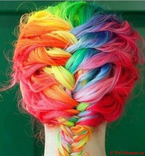 цвета радуги