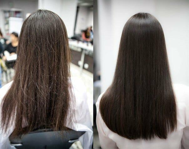 полировка волос в домашних условиях