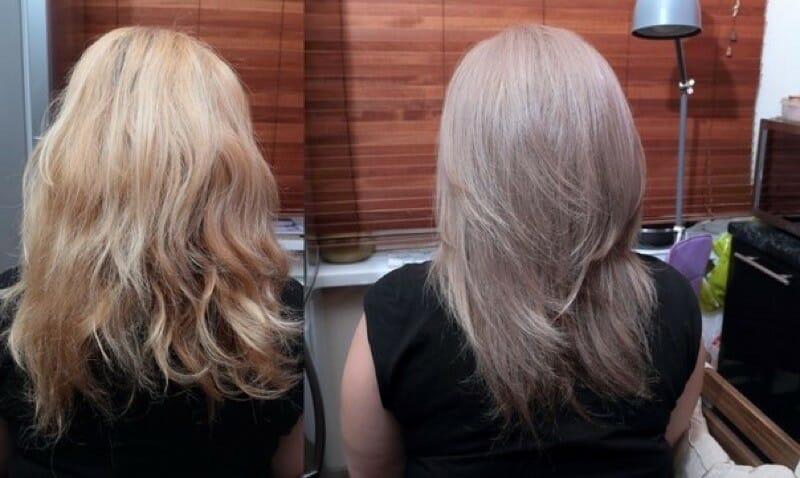 Как покрасить волосы кене