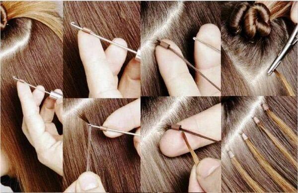 Микрокапсульное наращивание волос: приемущества и недостатки
