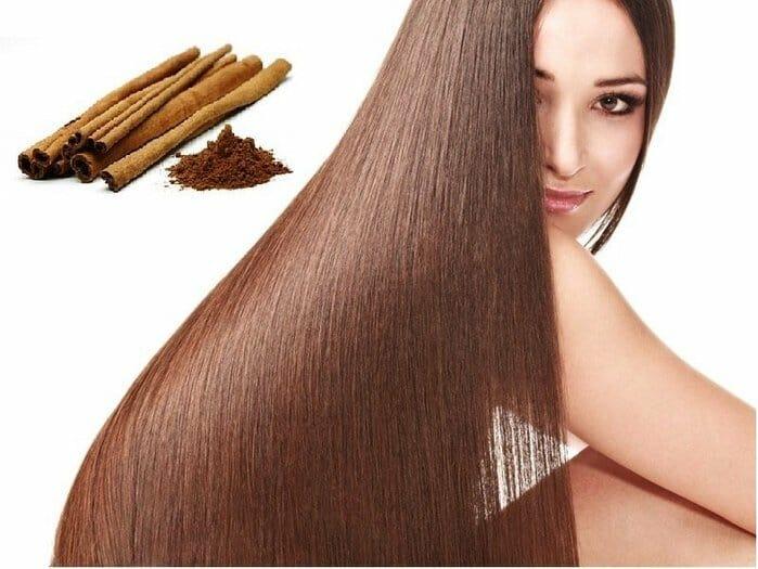 корица для волос